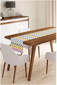 Napron din microfibră pentru masă Minimalist Cushion Covers Colorful, 45 x 145 cm