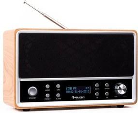 Auna Charleston DAB + ceas digital portabil FM / AM RDSstejar