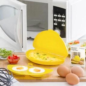 Recipient pentru făcut omletă la cuptorul cu microunde InnovaGoods
