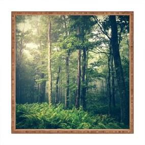 Tavă decorativă din lemn Fairyland, 40 x 40 cm