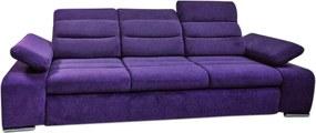 Canapea extensibila cu 3 locuri Junona Pink