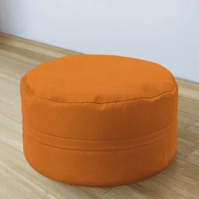 Goldea taburet din bumbac 50x20 cm - portocaliu 50 x 20 cm