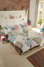 Home lenjerie colorata reversibila de pat pentru pat dublu Hip Milena 240x200/220cm