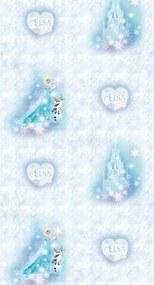 Fototapet de copii Regatul de gheaţă Elsa, 53 x 1005 cm