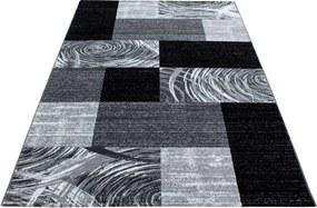 Covor Patchwork Phoenix, Negru, 80x150