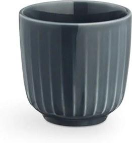 Ceașcă din porțelan pentru espresso Kähler Design Hammershoi, 1 dl, gri antracit