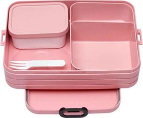 Set caserole pentru gustare Rosti Mepal Nordic Large, roz