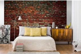 Fototapet perete din cărămidă