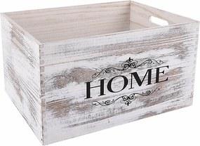 Lădiţă din lemn Home, 40 x 30 cm