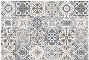 Set 24 autocolante pentru perete Ambiance Decal Tiles Azulejos Giacomo, 10 x 10 cm