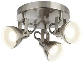 Searchlight 1543SS - Lampă spot FOCUS 3xGU10/50W/230V crom