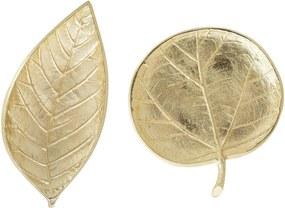 Set 2 Tavi Gold, Aluminiu, 19x9 cm & 15x14 cm