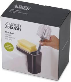 Recipient pentru detergenţi de vase Joseph Joseph Caddy SinkPod, gri
