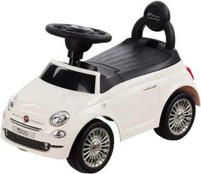 Masinuta fara pedale Fiat 500 - Sun Baby - Alb