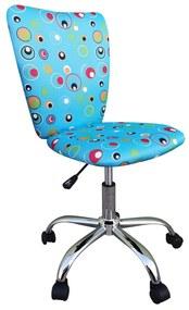 Scaun de birou pentru copii Blue Bubbles