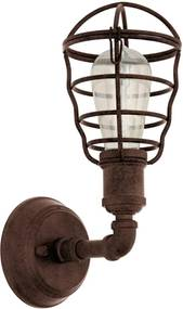 Eglo 49811 - Corp de iluminat perete PORT SETON 1xE27/60W