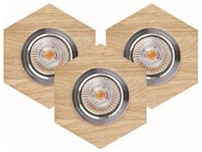 Spot-Light 2518374 - SET 3x Lampă încastrată LED VITAR 3xGU10/5W/230V