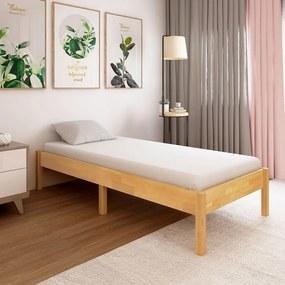 288477 vidaXL Cadru de pat, 100 x 200 cm, lemn masiv de stejar