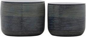 Cosuri Depozitare KENYA - Aluminiu Gri S Diametru( 43.1 cm) x Inaltime (36.8 cm) L Diametru (50.8 cm) x Inaltime (39.4 cm)