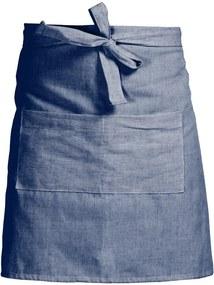 Șorț de bucătărie Linen Couture Delantal Blue, albastru