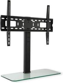 Auna Suport TV, dimensiune L, înălțime 76 cm, înălțime reglabilă, 23-55 inch, suport de sticlă