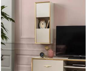 Set Comoda Tv cu 2 Corpuri - Gold Art