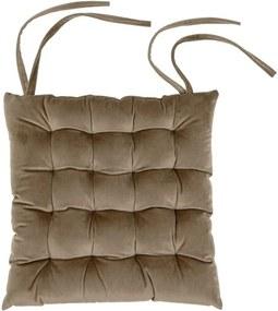 Pernă pentru scaun Tiseco Home Studio Chairy, 37 x 37 cm, bej