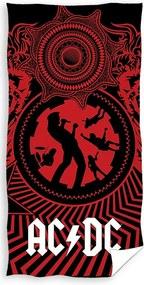 Prosop AC/DC Black Ice, 70 x 140 cm
