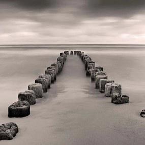 Imagine în cadru - Stepping Stones to Sea 40x40 cm
