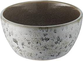 Bol din ceramică și glazură interioară gri Bitz Mensa, diametru 12 cm, gri
