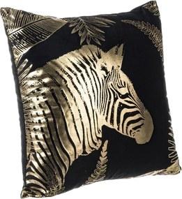 Perna decorativa din catifea Zebra 45 cm x 45 cm