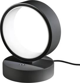 Veioza Redo Atomo LED ø125mm - negru mat