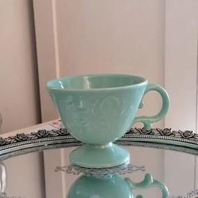 Cana Royal din ceramica turcoaz 11 cm