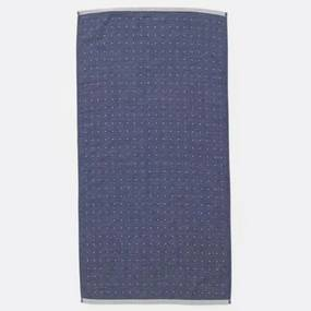Prosop din Bumbac Albastru SENTO - Bumbac Albastru latime(50 cm) x Inaltime(100 cm)