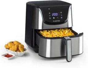 Klarstein AeroVital Deluxe, friteuză cu aer cald, 1700 W, 5.4 l, oțel inoxidabil
