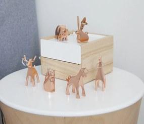 Suport pentru Inele ANIGRAM Giraffe - Copper