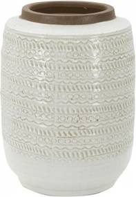 Vaza din portelan Tribal 21,5X27,5 cm, Mauro Ferretti