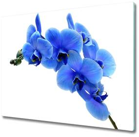 Tocator din sticla albastru orhidee