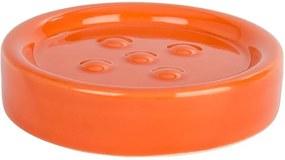 Săpunieră Wenko Polaris Orange, portocaliu