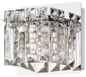 Eglo 98597 - Aplică perete LED de cristal FUERTESCUSA 1xG9/3W/230V