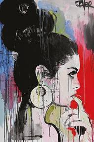 Loui Jover - Planets Poster, (61 x 91,5 cm)