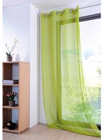 Perdea colorată MONNA verde, 135 x 260 cm 1 buc