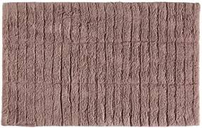 Covor baie din bumbac Zone Tiles, 50 x 80 cm, roz închis