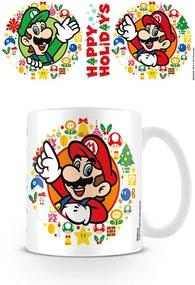 Super Mario Bros - Happy Holidays Cană