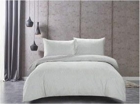 Lenjerie de pat din bumbac satinat DecoKing Herringbone, 140 x 200 cm