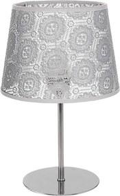 Lampă de masă SYMPHONY 1xE14/40W/230V 350 mm gri