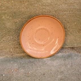 Farfurie pentru ceasca Gardena din ceramica corai 14 cm