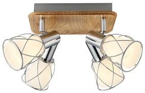 Prezent 75453 - Lampa spot PADRE 4xE14/40W/230V