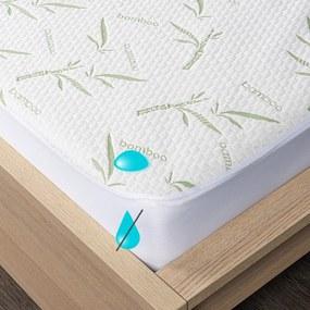 Protecție saltea 4Home Bamboo impermeabilă cu bordură, 160 x 200 cm + 30 cm, 160 x 200 cm