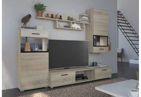 Expedo Mobilă sufragerie BLEUS, 230x200x40, sonoma